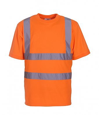 YK010/O HI-VIS SHORT SLEEVE T-SHIRT
