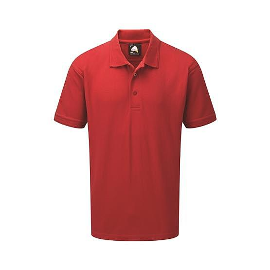 1100-10/D OSPREY DELUXE POLO RED