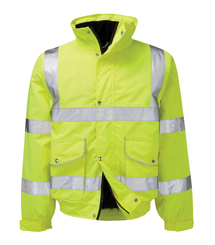ENBG HI-VIS BOMBER JACKET YELLOW