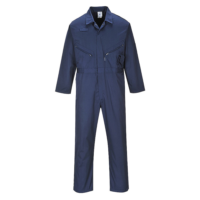 C813/NR LIVERPOOL ZIP COVERALL NAVY