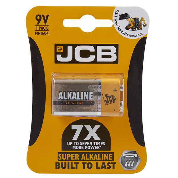 S5341 JCB SUPER ALKALINE 9V BATTERY