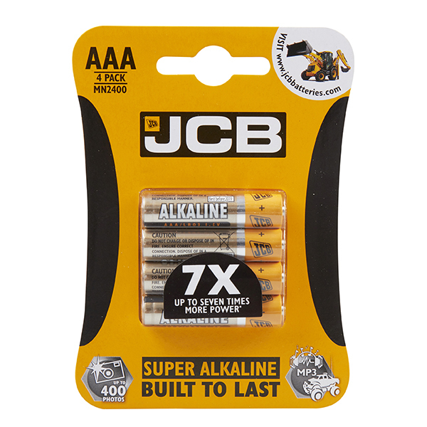 S5337 JCB SUPER ALKALINE AAA