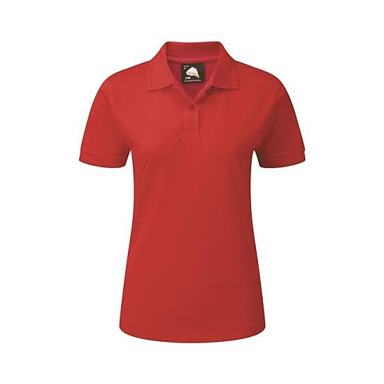 1160-10/D LADIES WREN POLO RED