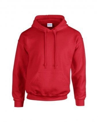 GD57/D HOODED SWEATSHIRT RED