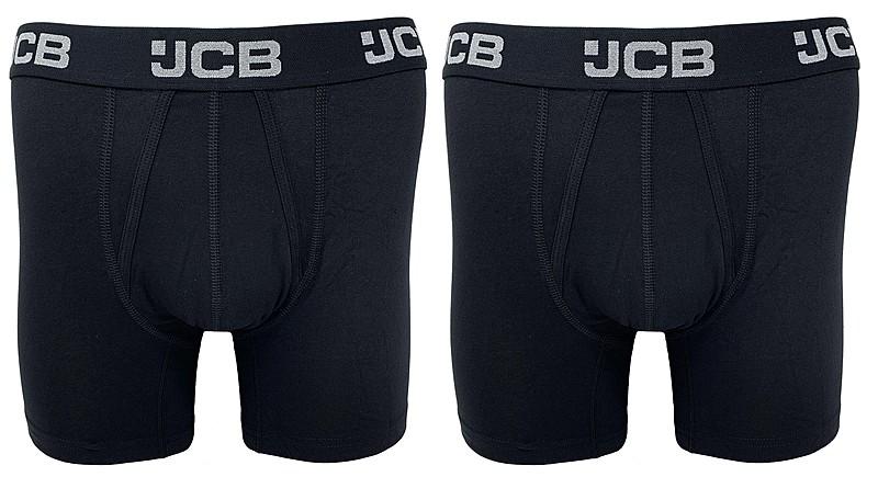 JCBU/B JCB 2PK MENS CORE BOXER SHORTS
