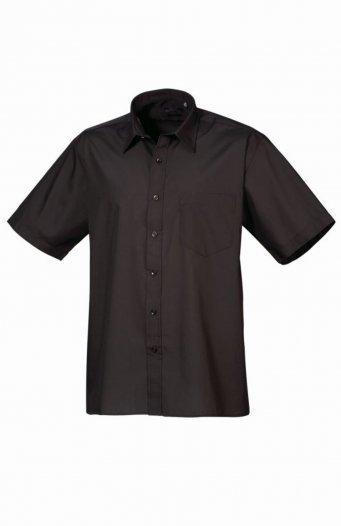 PR202/L SHORT SLEEVE SHIRT BLACK