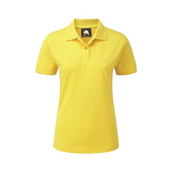 1160-10/Y LADIES WREN POLO YELLOW