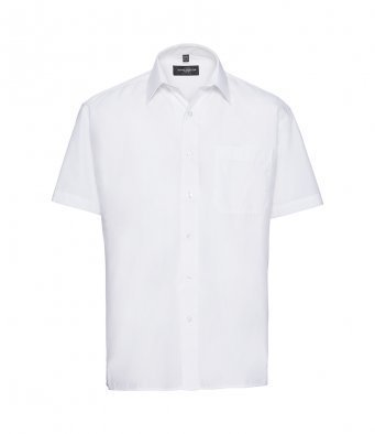 935M/W SHORT SLEEVE SHIRT WHITE