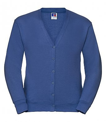 273M/RB RUSSELL CARDIGAN ROYAL BLUE