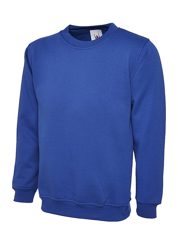 UC201/R PREMIUM SWEATSHIRT ROYAL BLUE