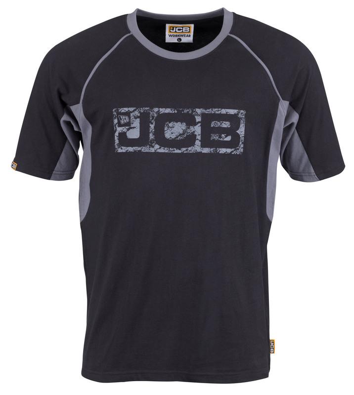 D+ID JCB TRADE BLACK/GREY T-SHIRT