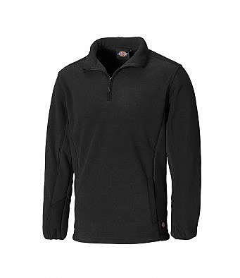 JW7011/L DICKIES ZIP NECK MICRO FLEECE