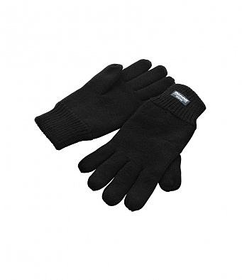 RS147/L RESULT THINSULATE GLOVES BLACK