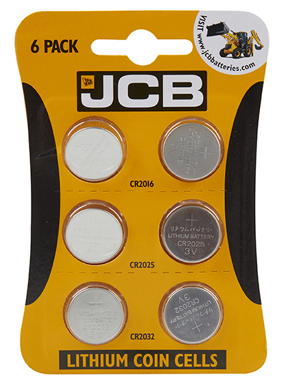 S4901 JCB LITHIUM COIN BATTERIES