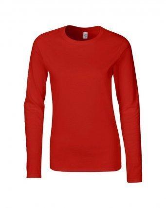 GD76/D LADIES T-SHIRT RED