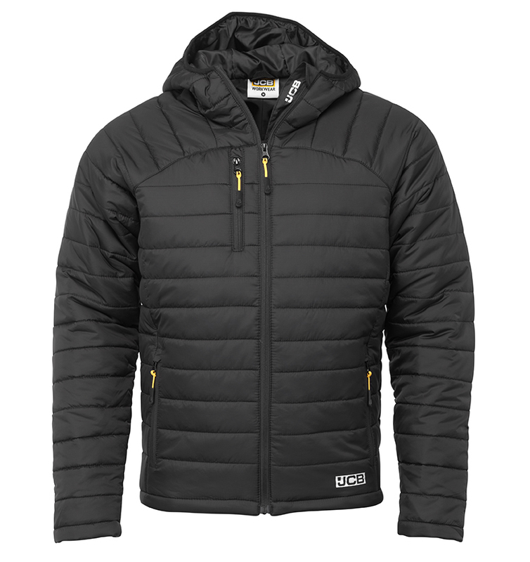 D+IP JCB TRADE BLACK PADDED JACKET