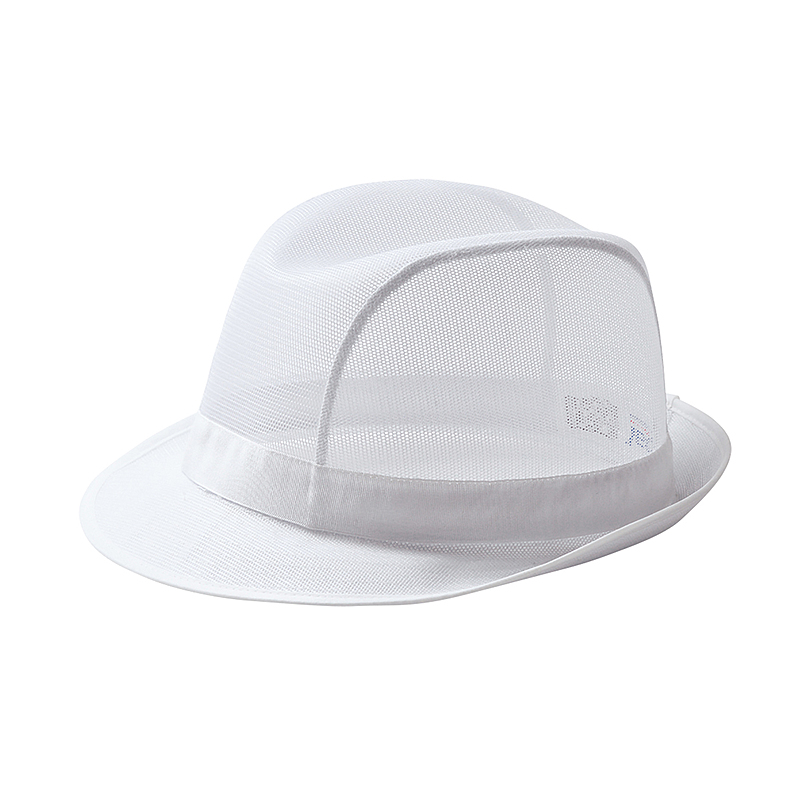 C600/W WHITE TRILBY HAT - FOOD