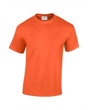 GD05/O GILDAN HEAVY T-SHIRT ORANGE