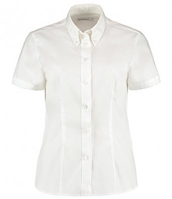 K701/W LADIE SHORT SLEEVE SHIRT WHITE